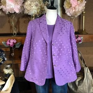 JOHN MEYER COLLECTION BLAZER (20W); TANK (2X)